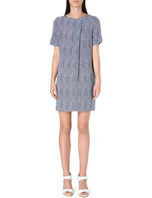 WHISTLES Vito stripe minna dress