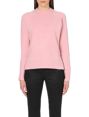 WHISTLES Zip-back knitted jumper