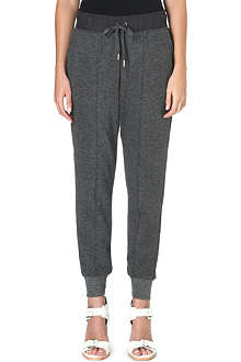 WHISTLES Lizzie jersey jogging bottoms
