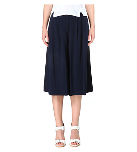 WHISTLES Beth wide leg culottes (Navy