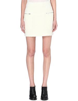 WHISTLES Kawaii Limited Edition wool-blend skirt