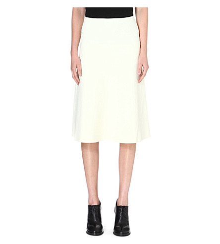 WHISTLES Mika Limited Edition midi skirt (Cream