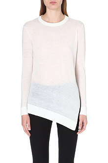 WHISTLES Mai Limited Edition wool-blend jumper