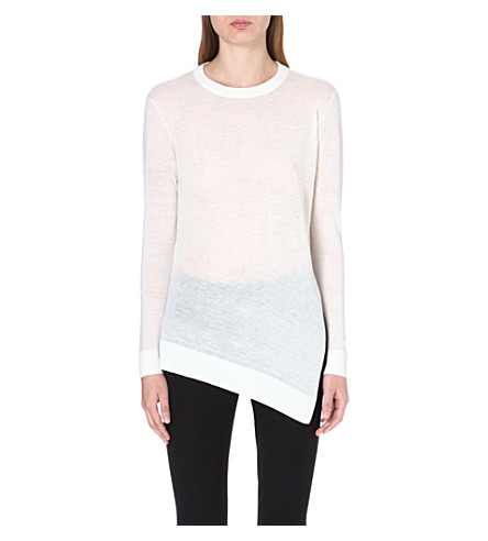 WHISTLES Mai Limited Edition wool-blend jumper (Cream