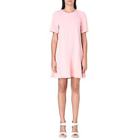 WHISTLES Simone cupro dress (Pink