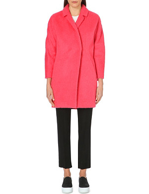WHISTLES Ira textured coat