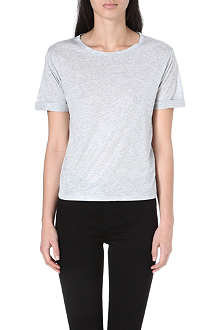 WHISTLES Ella cotton t-shirt