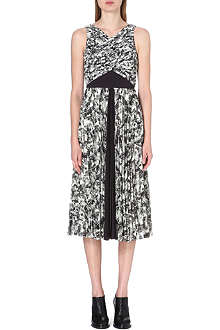 WHISTLES Anais Limited Edition abstract-print dress