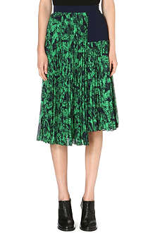 WHISTLES Anais Limited Edition abstract-print skirt