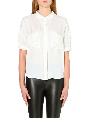 WHISTLES Ella silk blouse
