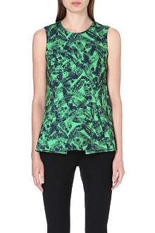 WHISTLES Anais Limited Edition abstract-print top