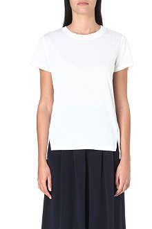 WHISTLES Longline split-hem t-shirt
