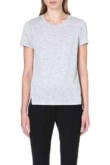 WHISTLES Longline split-hem t-shirt