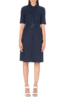 WHISTLES Hilary utility shirt dress