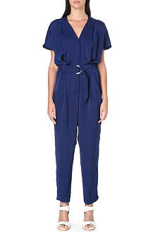 WHISTLES Phillipa belted jumpsuit