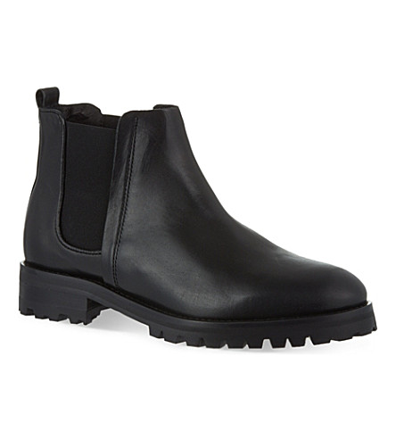 WHISTLES Hoya cleated Chelsea boot (Black