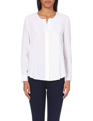 WHISTLES Allie silk blouse