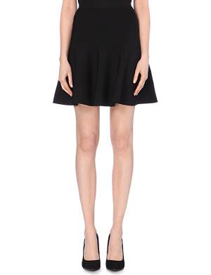WHISTLES Stretch-knit skirt