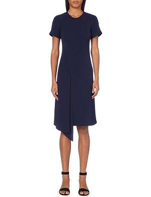 WHISTLES Kely draped-panel dress