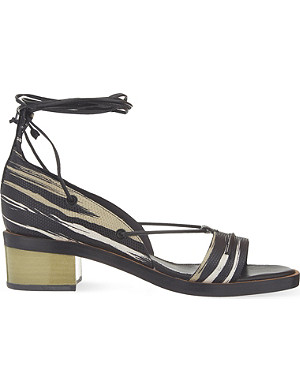 WHISTLES Nevine laced sandals