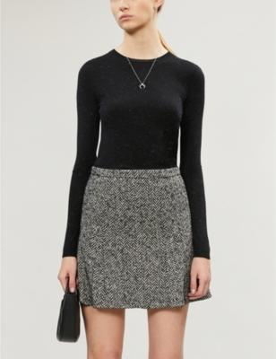 Annie sparkle knitted jumper