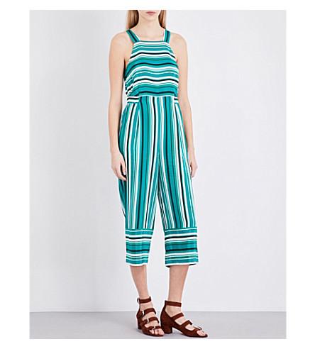 WHISTLES Madison silk jumpsuit (Multi-coloured