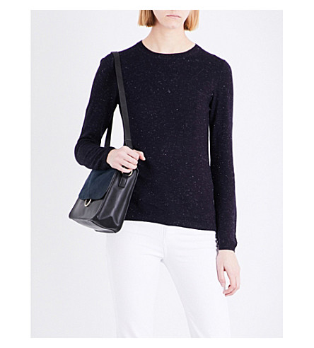 WHISTLES Annie knitted jumper (Navy