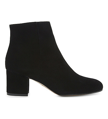 WHISTLES Logan heeled ankle boots (Black