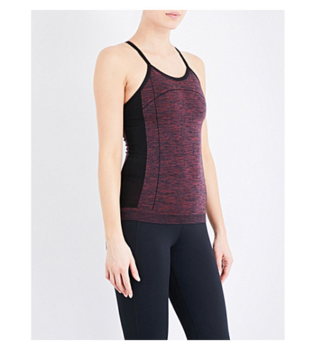 WHISTLES Longline sports top (Red