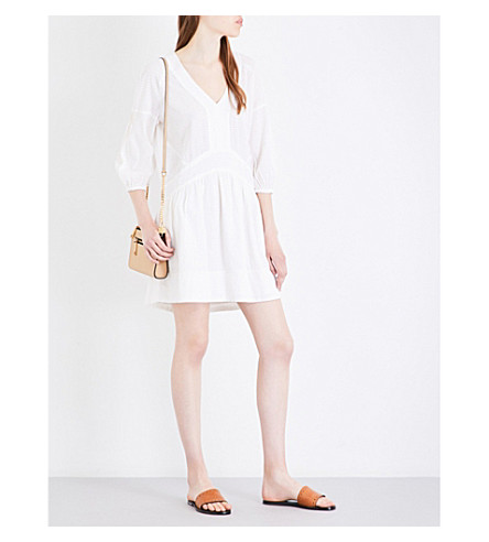 WHISTLES Charlie cotton dress (Cream