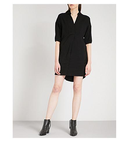 WHISTLES 萝拉宽松的绉裙 (黑色