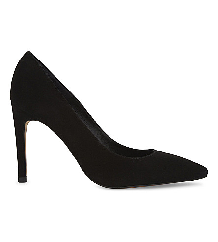 WHISTLES Cornel suede pointed heels (Black