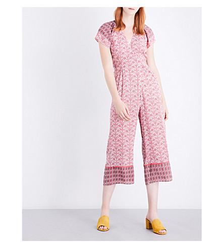 WHISTLES Alisha woven jumpsuit (Multi-coloured