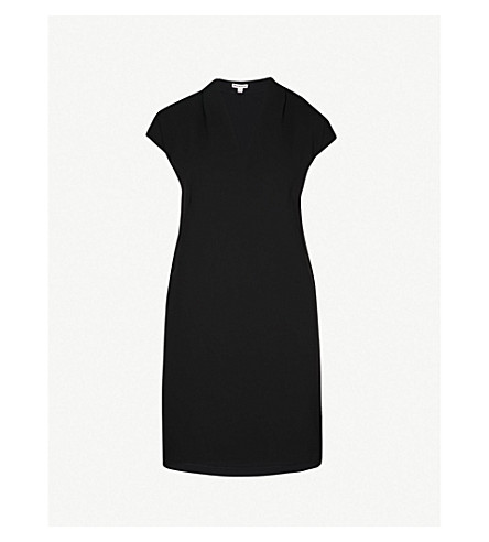 WHISTLES Paige woven dress (Black