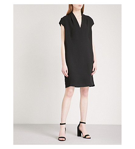 WHISTLES Paige woven dress (Black