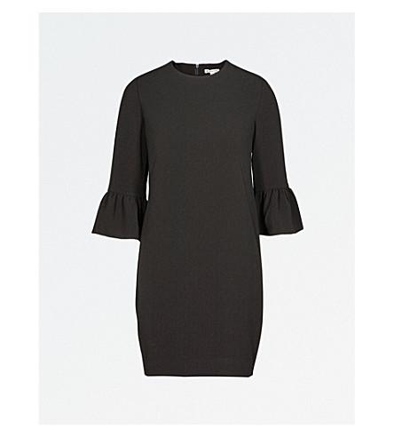 WHISTLES Raven crepe dress (Black