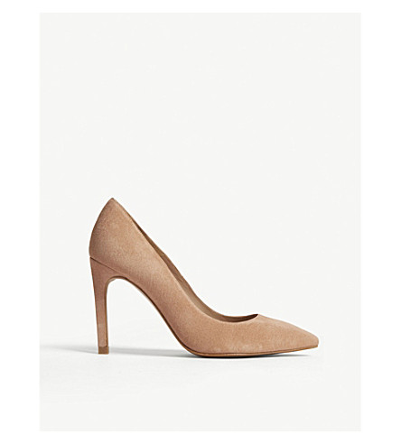 WHISTLES Cornel suede courts (Nude