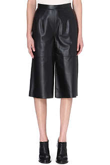 WHISTLES Mio Limited Edition leather culottes