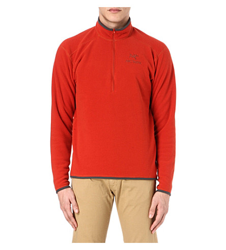 ARC'TERYX Delta AR zip top (Red