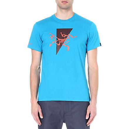 ARC'TERYX Apostrophe t-shirt (Riptide