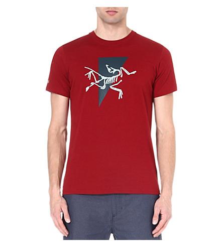 ARC'TERYX Apostrophe t-shirt (Oxblood