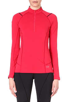 ARC'TERYX Ensa long-sleeve zip top