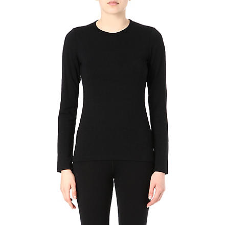 ICEBREAKER 260 Tech merino top (Black