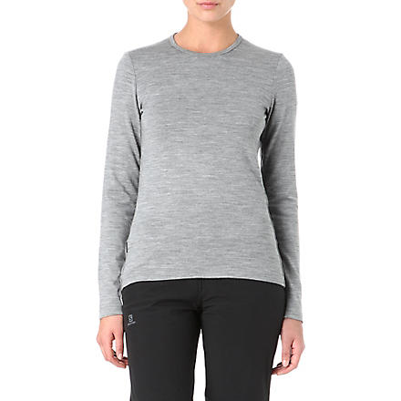 ICEBREAKER 260 Tech merino top (Grey