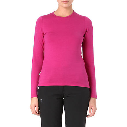 ICEBREAKER 260 Tech merino top (Purple