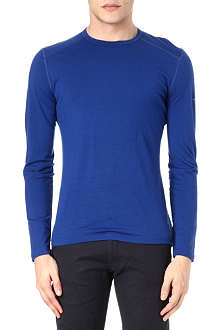 ICEBREAKER Oasis 200 long-sleeved crew-neck top