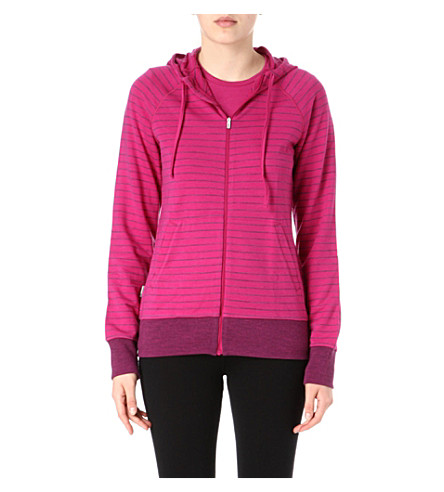 ICEBREAKER Crush merino hoody (Purple