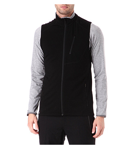ICEBREAKER Sierra Real Fleece 260 vest (Black