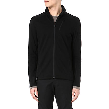 ICEBREAKER Sierra Real Fleece 260 long-sleeved jacket (Black