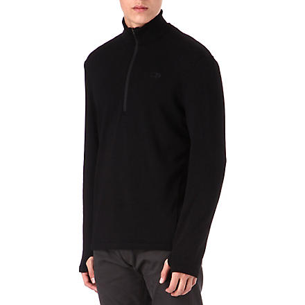 ICEBREAKER Original 320 long-sleeve half-zip top (Black